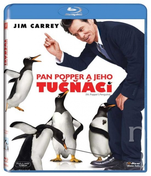 BLU-RAY Film - Pan Popper a jeho tučňáci (Bluray)
