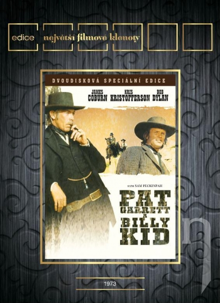 DVD Film - Pat Garret a Billy the Kid
