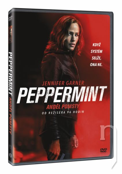 DVD Film - Peppermint: Anděl pomsty