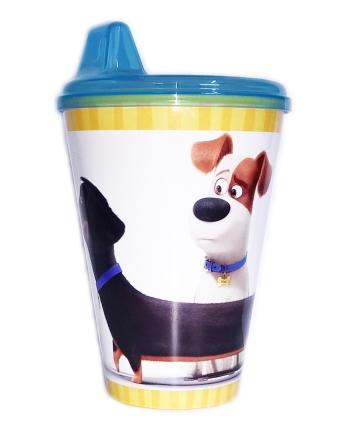 Plastový pohár - Tajný život maznáčikov (430 ml.)