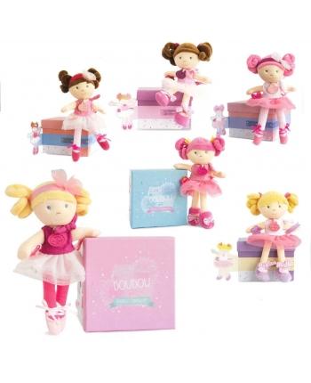 Plyšová bábika baletka v škatuľke - Dou Dou (20,5 cm)