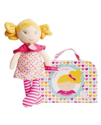 Plyšová bábika Capucine v kufríku - Dou Dou (28 cm)