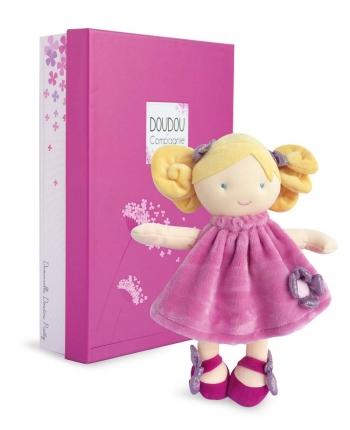 Plyšová bábika Rose v škatuľke - Dou Dou (28 cm)