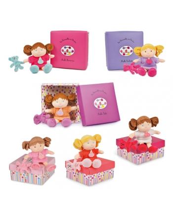 Plyšová bábika s malým mackom v škatuľke - Dou Dou - séria 2 (20 cm)