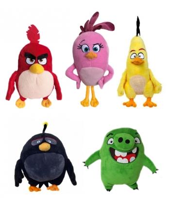 Plyšová hračka Angry Birds Movie (22 cm) - 5 Assorted