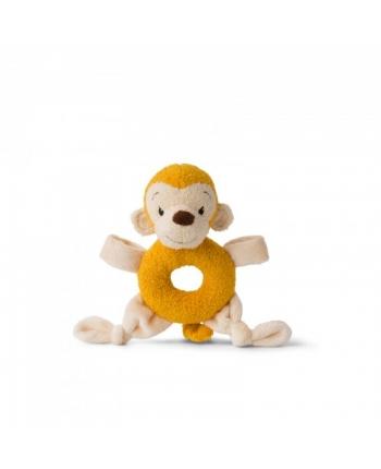 Plyšová opička Mago žltá - hŕkalka - WWF cub club - 16 cm