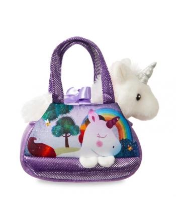 Plyšová kabelka Harmony s jednorožcom - Fancy Pals (20,5 cm)