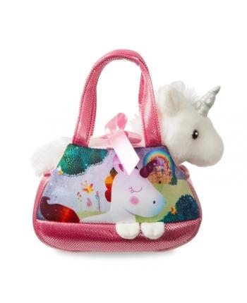 Plyšová kabelka Melody s jednorožcom - Fancy Pals (20,5 cm)