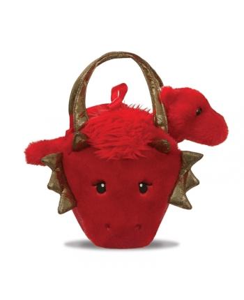 Plyšová kabelka s drakon - Fancy Pals - 20,5 cm
