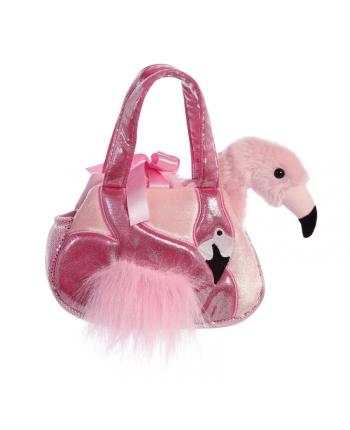 Plyšová kabelka s plameniakom Ava - Luxe Boutique (20,5 cm)