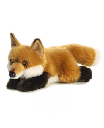 Plyšová líška ležiaca - Miyoni (28 cm)