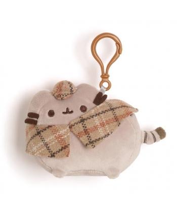 Plyšová mačička Pusheen Detektív - prívesok (10 cm)