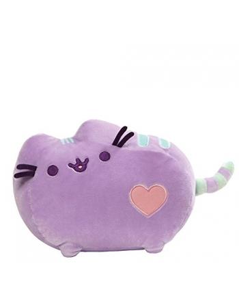 Plyšová mačička Pusheen pastelová fialová 31x19 cm