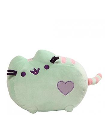 Plyšová mačička Pusheen pastelová zelená 31x19 cm