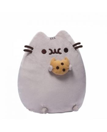 Plyšová mačička Pusheen s keksíkom (24 cm)