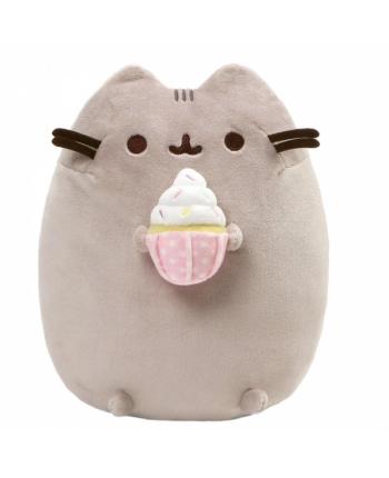 Plyšová mačička Pusheen s koláčikom - Pusheen (22 cm)