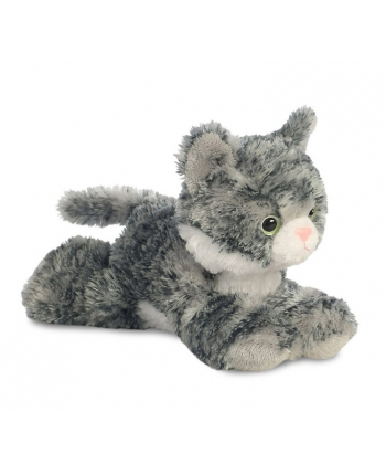 Plyšová mačka sivá Lily - Flopsie (20,5 cm)