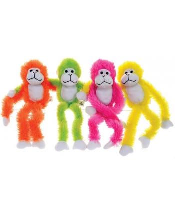 Plyšová opica neónová farba (44 cm)