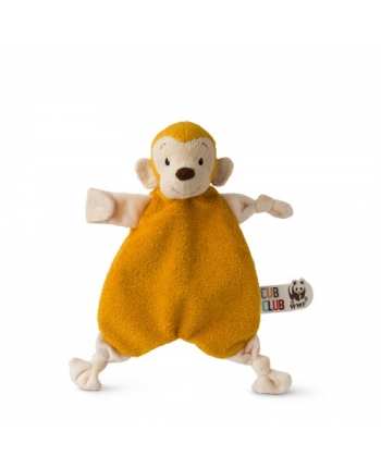 Plyšová opička Mago žltá - prítulníček - WWF cub club - 30 cm