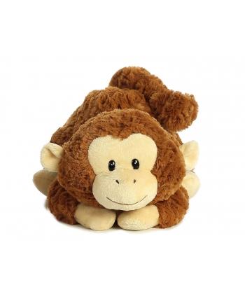 Plyšová opička ležiaca - Tushies (28 cm)