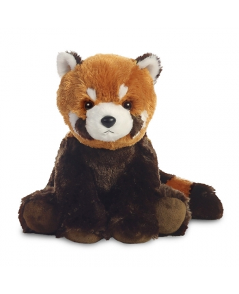 Plyšová panda červená - Destination Nation (28 cm)