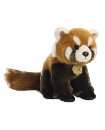 Plyšová panda červená - Miyoni (22,5 cm)