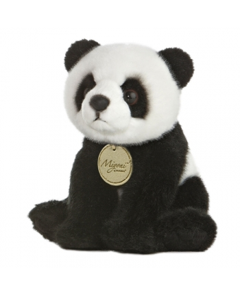 Plyšová panda sediaca - Miyoni (19 cm)