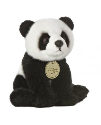 Plyšová panda sedící - Miyoni (19 cm)