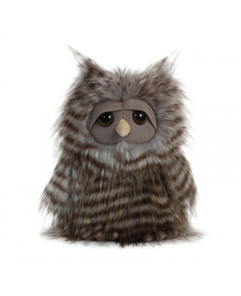 Plyšová sova Midnight - Luxe Boutique (28 cm)