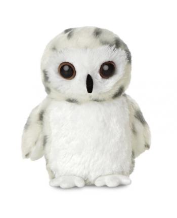 Plyšová sova snežná - Flopsies Mini (20,5 cm)