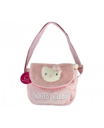 Plyšová taštička cez rameno - Hello Kitty (21x21 cm)