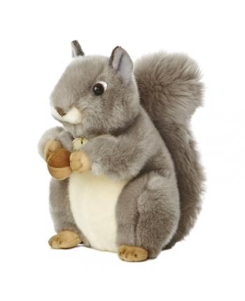 Plyšová veverička sivá - Miyoni (25,5 cm)