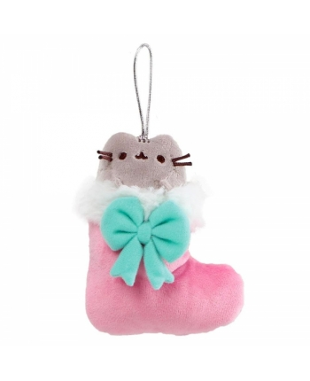 Plyšová vianočná čižmička - Pusheen (12 cm)