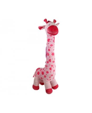 Plyšová žirafa Baby ružová (80 cm)