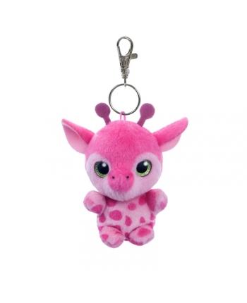 Plyšová žirafa Gina - kľúčenka - YooHoo - 9 cm
