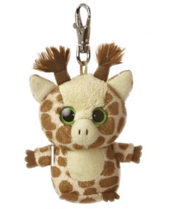 Plyšová žirafa - kľúčenka - YooHoo (7,5 cm)