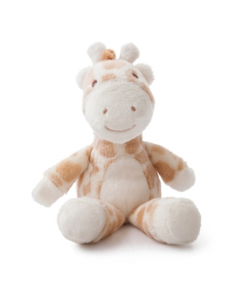 Plyšová žirafka hrkálka - Gigi (20,5 cm)