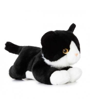 Plyšové mačiatko čierno-biele - Luv to Cuddle (28 cm)