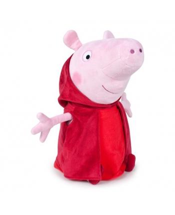 Plyšové prasiatko Peppa v červenom plášti - Prasiatko Peppa (20 cm)