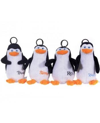 Plyšoví tučniaci z Madagaskaru 4 - prívesok (12 cm) - 4 druhy