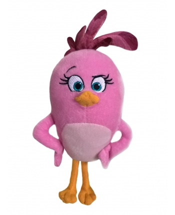 Plyšový Angry Birds Movie Stella - ružový (18 cm)