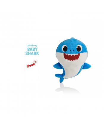 Plyšový Baby Shark - modrý se zvukem - 19 cm