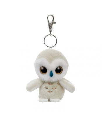 Plyšová snežná sova Snowee - kľúčenka - YooHoo - 9 cm