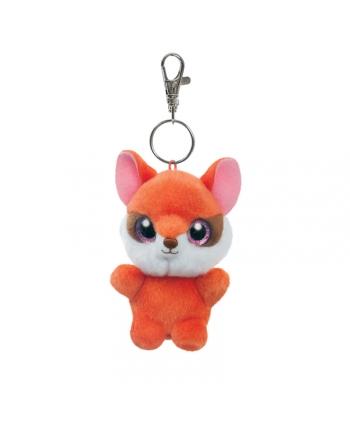 Plyšový červená líška Sally - kľúčenka - YooHoo - 9 cm