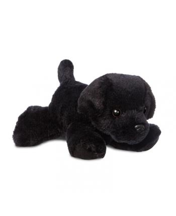 Plyšový čierny labrador Blackie - Flopsies Mini (20,5 cm)