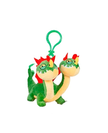 Plyšový drak Barf a Belch - prívesok - Ako si vycvičiť draka 3 (17 cm)