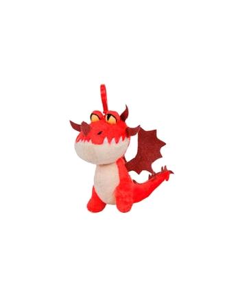 Plyšový drak Hookfang - prívesok - Ako si vycvičiť draka 3 (17 cm)