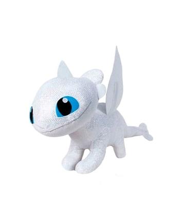 Plyšový drak Light Fury - Ako si vycvičiť draka 3 (29 cm)