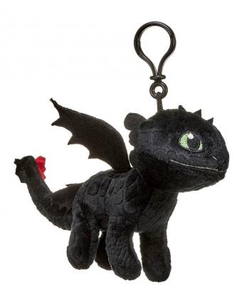Plyšový drak Toothless 3D - prívesok - Ako si vycvičiť draka 3 (20 cm)