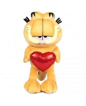 Plyšový Garfield stojaci so srdiečkom - 32 cm